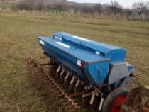 Semanatoare cereale 19 randuri 225cm cu cutie azot tractor