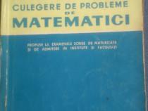 Culegere de probleme de matematici - O Sacter