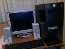 Kit pc calculator unitate ,monitor tastatura si boxe