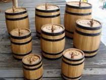 Butoi dud salcâm stejar pentru țuică, vin, coniac,whisky.