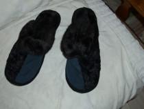 Papuci barbatesti cu blanita  noi