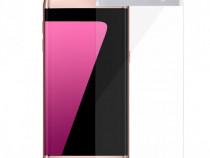 Samsung S7 Edge - Folie Sticla Securizata Silver Argintie