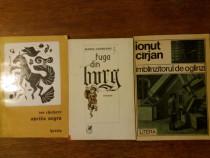 Lot 3 carti de poezie cu dedicatii si autografe / R2P5F