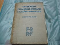 """Carte""""Dictionar Francez-Roman/Roman-Francez""""-colectie,ieftin"""