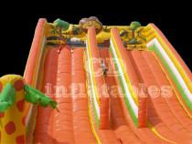 Double slide jungle -topogan gonflabil!