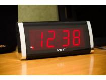 Ceas de birou cu afisaj led si alarma VST-730