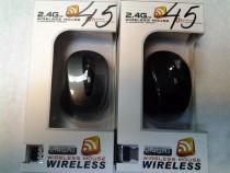 Mouse optic cu fir si wireless
