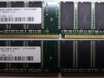 Kit Rami PC DDR 1 Gb (2x512)-Memorie PC