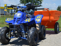 "Atv BigFoot 125 Cmc Roti 6"" Nitro-Motors Culoare:Albastru"
