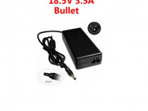 Incarcator Laptop Compatibil HP 18.5V 3.5A Amperi Bullet NOU
