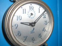 Ceas vechi Jaz France alarm SGDG Mouvement functional metal