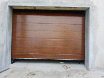 Usi garaj sectionale 3000/2350 stejar auriu mioveni