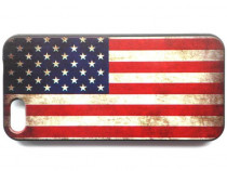 Husa protectie iPhone 5, carcasa spate telefon, model desen