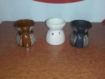 Candela ceramica aromaterapie clepsidra