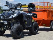 Atv nitro 125cc t-rex rg7 automat, import germania #negru