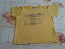 Tricou galben cu copii 110/116