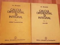 Calcul diferential si integral de Gh. Siretchi (2 vol.)