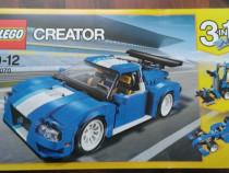 Lego creator 31070 - masina turbo de curse - original, nou