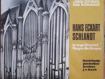 Hans Eckart Schlandt la orga Bisericii Negre din Brașov