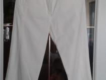 Jeansi NOI lungi albi 38