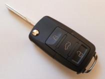 Carcasa chei Briceag - VW - 3 Butoane
