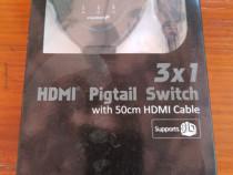 Switch HDMI 3 x 1 nou