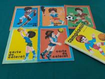 Campionii *5 cărți de colorat / dumitru ristea/1976