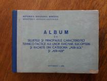 Album cu siluetele unor avioane, elicoptere si rachete / R3F