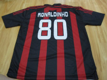 "Tricou ""bwin""Ronaldinho 80 original,made in Italy,marimea XL"