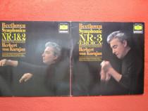 Vinil/vinyl 2xLP rar -Beethoven-Symph.1,2,3-Eroica - Karajan