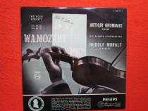 "Vinil/vinyl rar Mozart-ArthurGrumiaux-Stradivarius""""Il Titan"
