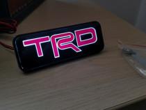Emblema led TRD grila sigla toyota Camry Hilux Corolla Rav4