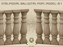 Stalpisori, balustri, din beton, model B1.