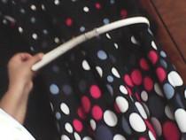 Rochie cu buline multicolore