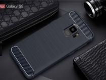 Husa/Bumper Antisoc cu textura de carbon Samsung S9/S9 plus