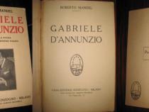 R.Mantel-Gabriele D'Annunzio-Il Poeta della Patria 1928.