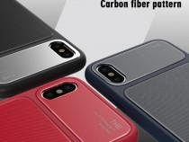 Huse silicon și sticla securizata Iphone X