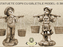 Statuete set copii cu galetile model S38-S39.