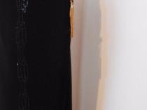 Pantaloni dama eleganti(negru si maro)import Italia