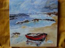 Marina 5-pictura ulei pe panza;