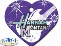Medalion catel Inima Mare Hannah Montana Disney