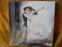 Impreuna 1-pictura ulei pe panza;Macedon Luiza