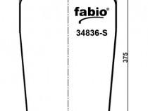 Perna aer camioane DAF cod Contitech 836M , Fabio 34836-S