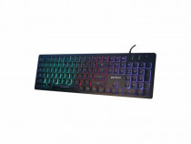 Tastatura iluminata serioux 9500i usb produs nou