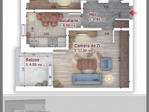 Apartament 2 camere Direct Dezvoltator Metrou 1 Decembrie