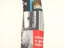 Zara, Rochie noua, lunga, spectaculoasa, cu print fotografic