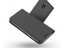 Husa Telefon Flip Book Samsung Galaxy J5 2017 j530 Grey NOU