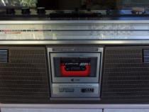 Radio SHARP GF-6060 casetofon portabil stereo,vintage 1985