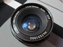 Obiectiv Porst Weitwinkel 1:2,8/35mm Auto Ø55 SLR-ieftin