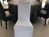 Huse lycra elastice pentru decorat scaune, huse spandex